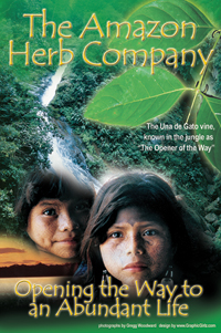 Amazon Herb Post Card