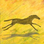 Running Horse Illustration by Julia Stege
