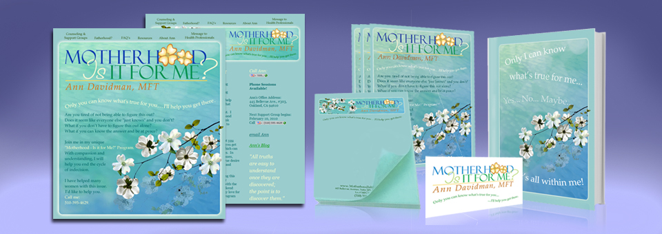 Motherhood is it for Me? Branding Campaign