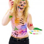 http://www.dreamstime.com/royalty-free-stock-photography-creative-woman-painting-image10341427