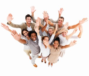 bigstockphoto_Happy_Business_People_With_Han_4049349