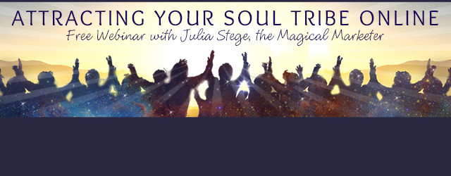 Attracting Your Soul Tribe Online Free Webinar
