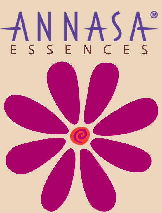logo for Annasa Flower Essences by Julia Stege of Magical Marketing