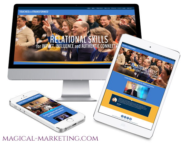 Branding and Website for Transformational Coach by Magical Marketing