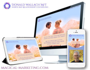 Branding and Website for Spiritual Therapist by Magical Marketing