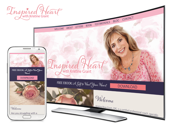 Branding and Website Campaign for Inspired Heart by Magical Marketing