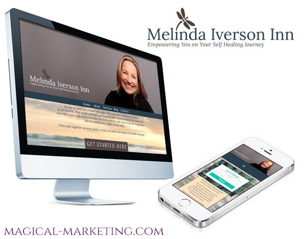 Branding and Website Campaign for Spiritual Healer by Magical Marketing