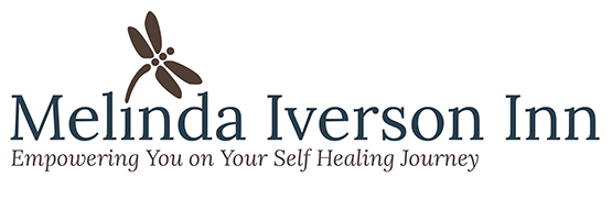 logo for Melinda Iverson Inn by Julia Stege of Magical Marketing