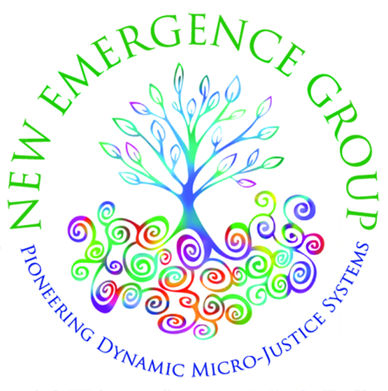logo for New Emergence Group by Julia Stege of Magical Marketing