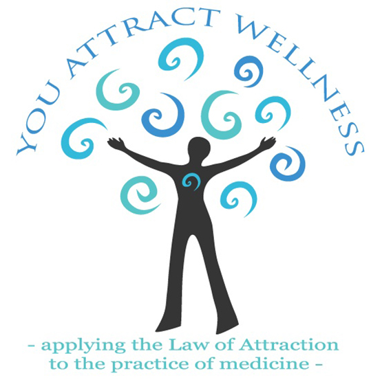 logo for You Attract Wellness by Julia Stege of Magical Marketing