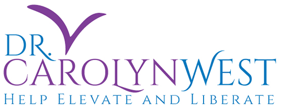 logo for Dr. Carolyn West by Julia Stege of Magical Marketing