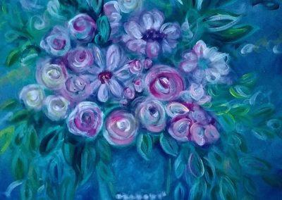 Bucket of Flowers Sept 2018
