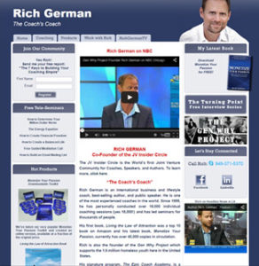 Rich German Before Website